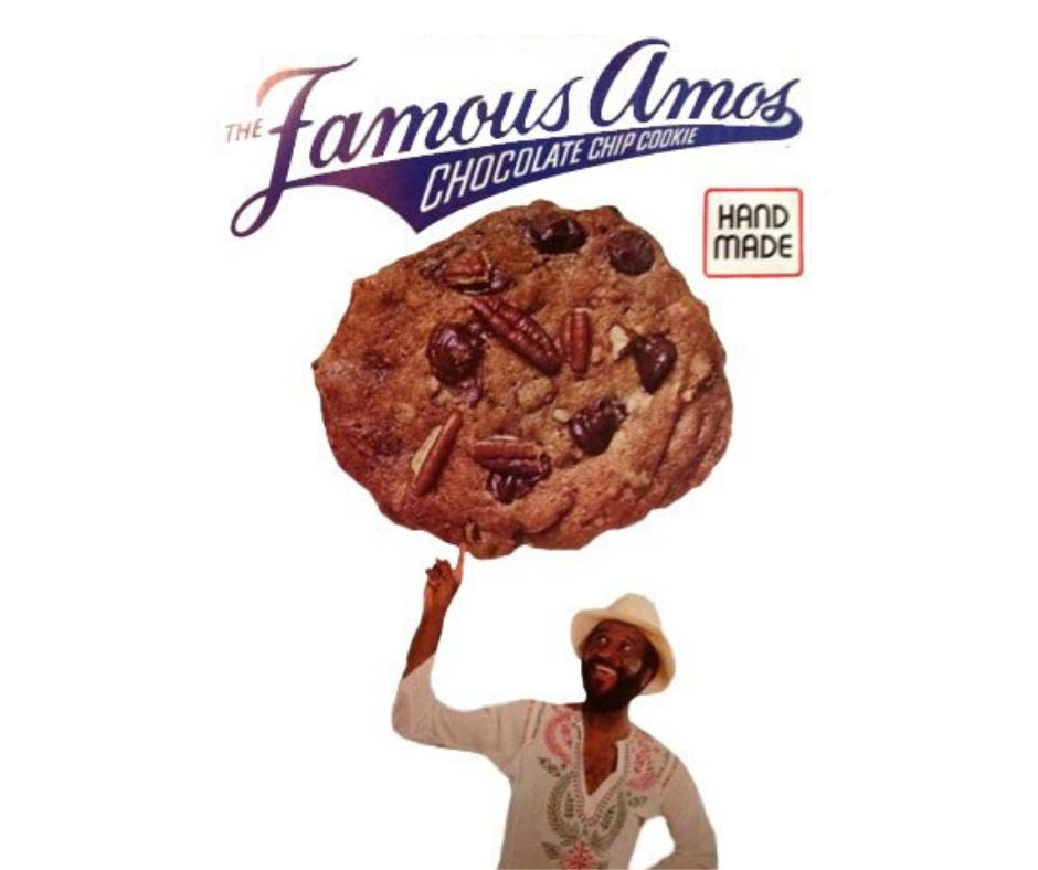 Famous Amos Cookies Original 1975 Packaging